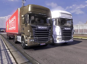 Scania Truck Driving Simulator thumb